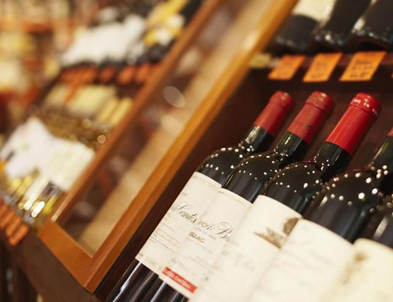 Imagen de bodega de vinos